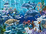 61VdbkF14uL. SL160  Ravensburger Floor Puzzle Sea Life