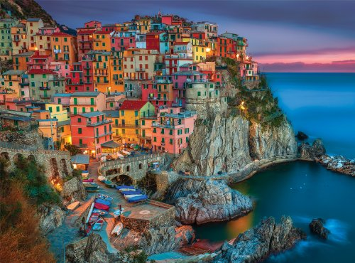 Buffalo Games Signature Series: Cinque Terre – 1000 Piece Jigsaw Puzzle by Buffalo Games