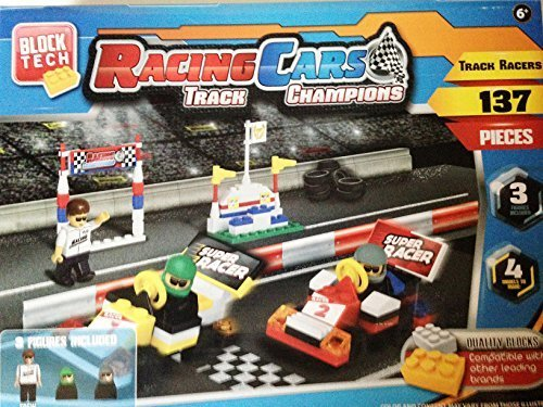 Block Tech Racing Cars Track Champions 137 Pieces