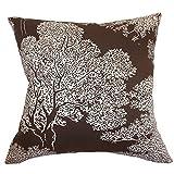 The Pillow Collection Juara Tree Chocolate Pillow, 20