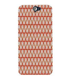 EPICCASE red bindi Mobile Back Case Cover For HTC One A9 (Designer Case)