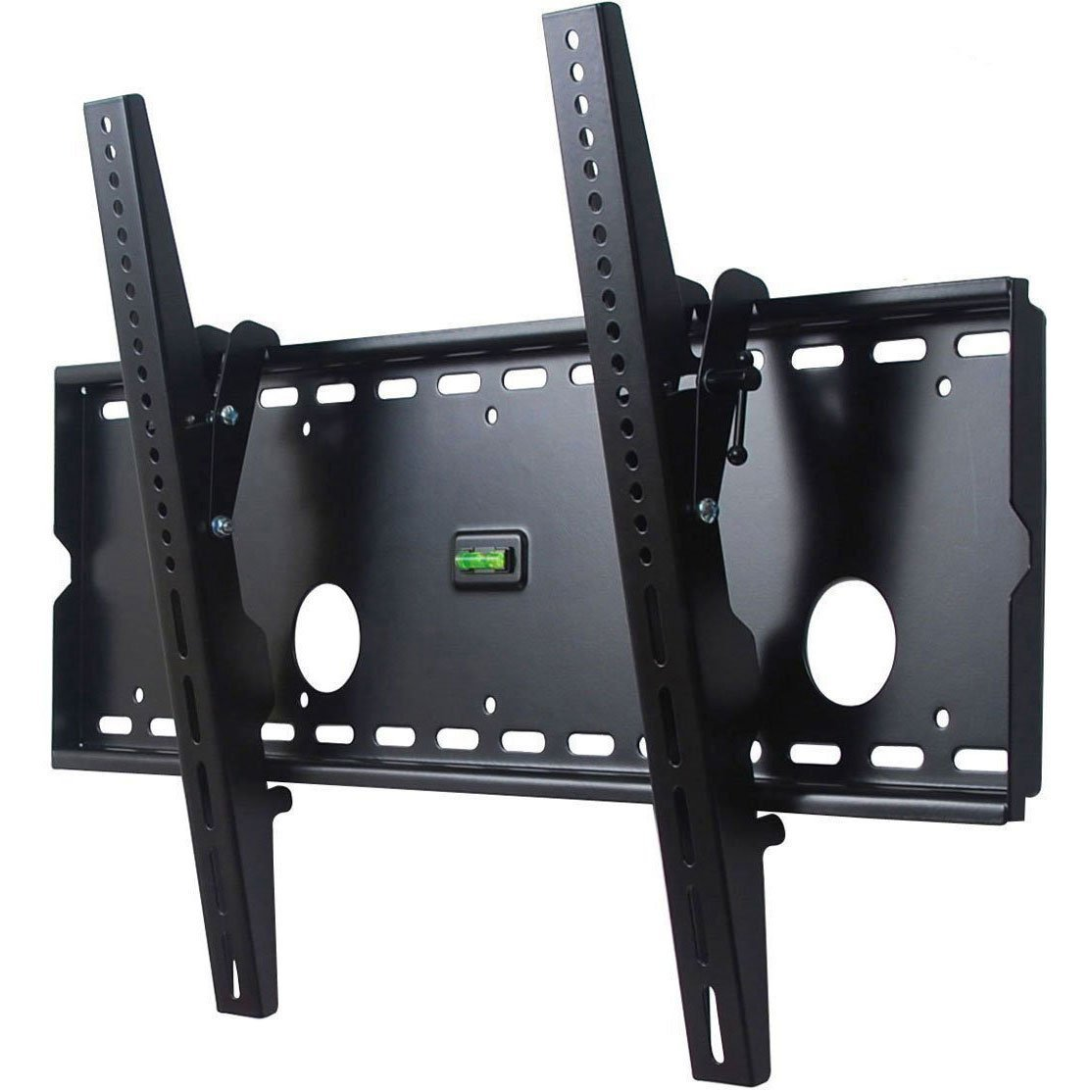 VideoSecu Black Low Profile TV Wall Mount Bracket for Sharp LC-42D43U LCD 42 inch HDTV TV M80 new universal adjustable tilt tilting tv wall mount bracket for samsung lcd led plasma max 165 lbs 23 37inch