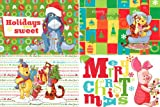 Disney Winnie The Pooh 24 Assorted Christmas Holiday Cards with Envelopes