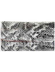 Aadaana Women's Wallet (Black And White, ADLW-31)