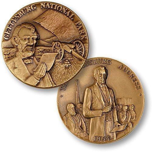 Gettysburg National Monument Challenge Coin - 1