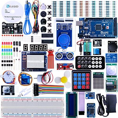 Elegoo-Mega-2560-Project-The-Most-Complete-Ultimate-Starter-Kit-w-TUTORIAL-MEGA-2560-controller-board-LCD1602-Servo-Stepper-Motor-for-Arduino-Mega2560-UNO-Nano