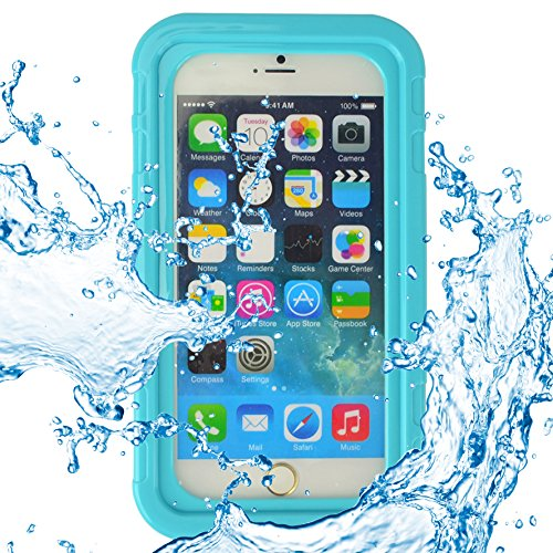 ECCRIS discount duty free SumacLife Universal 5.5 Inch Waterproof Heavy Duty Case for Apple Iphone 6S Plus / Apple Iphone 6 Plus (blue)