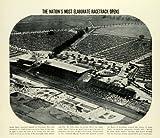 1937 Print Opening Santa Anita Racetrack Handicap Hal Roach Christmas Day Horse - Original Halftone Print