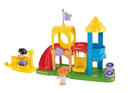 Fisher-Price Little People Neighborhood Playground Playset