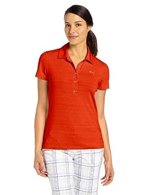 Puma Golf NA Women's Barcode Polo Shirt