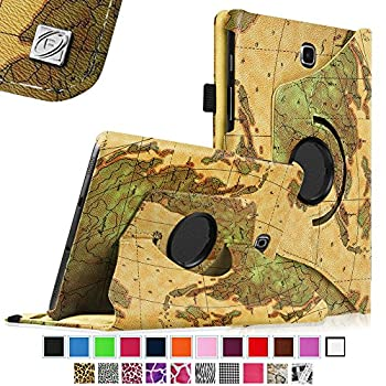 Fintie Tab S2 8.0 Case - Premium PU Leather 360 Degree Rotating Cover Swivel Stand Auto Sleep