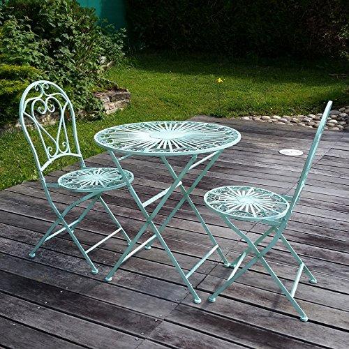Htdeco - Fer forgé - Gartenmöbel aus Schmiedeeisen
