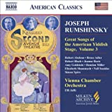 Great Songs Yiddish Stage V. 3