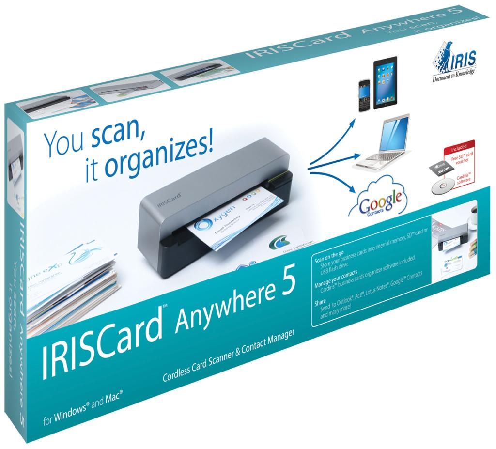 Amazon IRISCard Anywhere 5 Portable Business Card