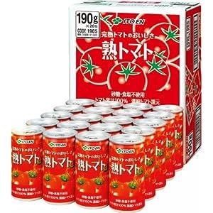 伊藤園 熟トマト 190g×20本