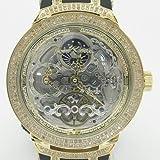 Mens Joe Rodeo Master Diamond Watch jojo aqua jojino techo canary ice bling iced