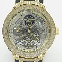 Mens Joe Rodeo Master Diamond Watch jojo aqua jojino techo canary ice bling iced
