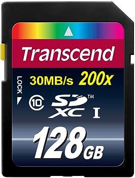 Transcend 128GB Class 10 SDXC Card