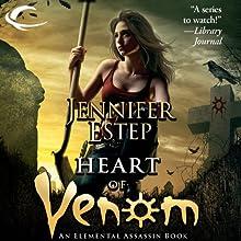 Heart of Venom: Elemental Assassin, Book 9 (       UNABRIDGED) by Jennifer Estep Narrated by Lauren Fortgang