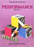 Bastien Piano Basics Level 1 - Performance