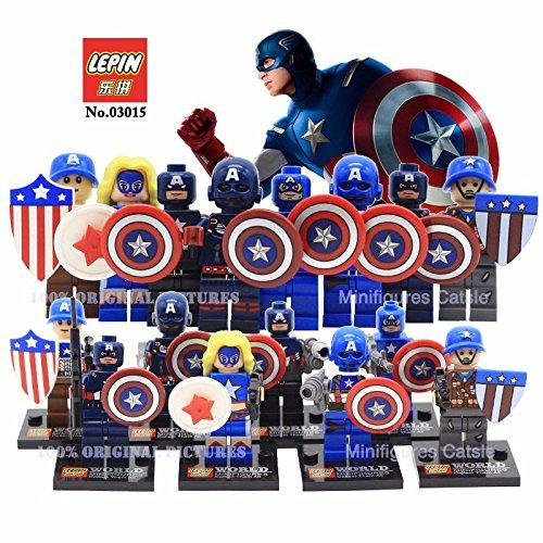 8pcs/set SY293 Marvel Avengers 2 Minifigure Super Heroes Captain America (Captain America Bucket Hat compare prices)
