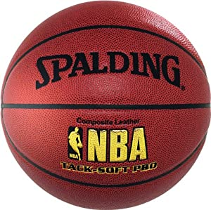 Spalding Ballon de basketball NBA Tacksoft Pro Taille 7 Avec logo DBB (Deutscher Basketball Bund)