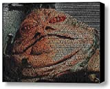 Star Wars Jabba The Hutt quotes Mosaic Incredible Framed 9x11 inch Limited Edition W/coa