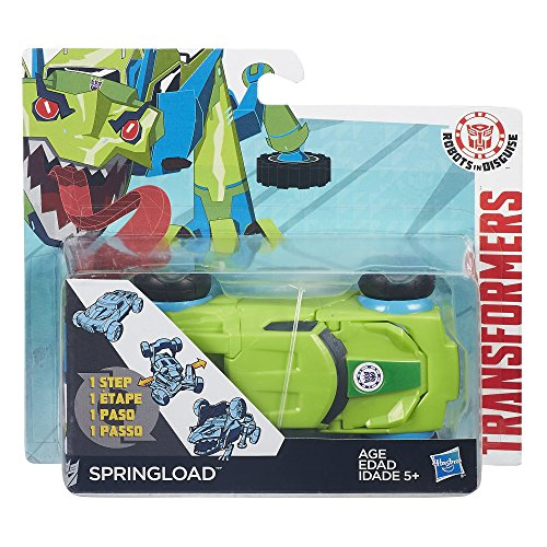 Transformers Robots in Disguise 1-Step Changers Springload Figure by Hasbro