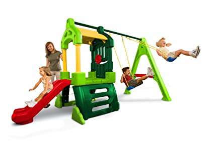Clubhouse Swing Tikes Clubhouse Swing Set