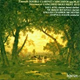 Franz Wilhelm Tausch: Double Clarinet Concertos Nos. 1 & 2 in B flat Major, Opp. 26 & 27 / Franz Xaver Süssmayr: Concerto Movement in D Major - Thea King / Nicholas Bucknall / The English Chamber Orchestra / Leopold Hager