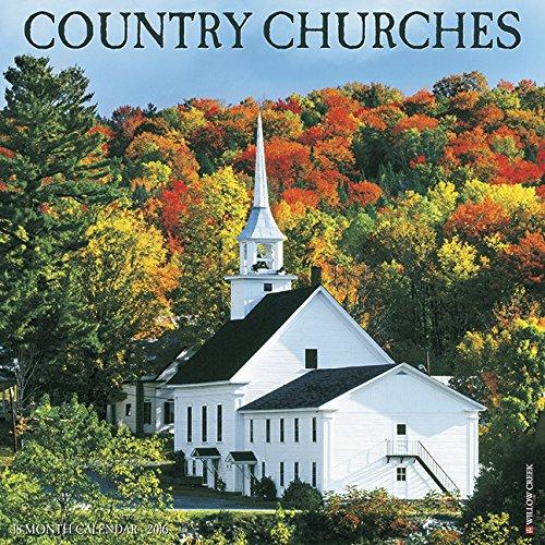 2016 Country Churches Wall Calendar