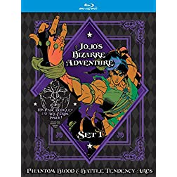 JoJo's Bizarre Adventure Set 1: Phantom Blood and Battle Tendency [Blu-ray]