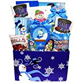 Art of Appreciation Gift Baskets Our Sweetest Snowman Christmas Cookie and Candy Care Package Holiday Gift Box