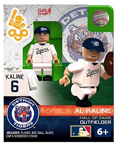 Al Kaline MLB Detroit Tigers G2S1 Hall of Fame Mini Figure OYO - 1