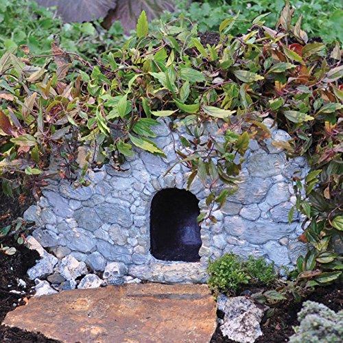 Fiddlehead Fairy Village - Log House Fairy Home