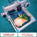 KAMOLTECH 2.5W Desktop DIY Violet Laser Engraver Engraving Machine Picture CNC Printer Assembling Kits