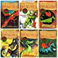 Cressida Cowell: Hiccup (How to Train Your Dragon) - 6 books collection pack: (How to Twist a Dragon's Tale / How to Train Your Dragon / A Hero's Guide to Deadly Dragons / How to Cheat a Dragon's Curse / How to Ride a Dragon's Storm / How to Break a Dragon's Heart rrp �35.94)