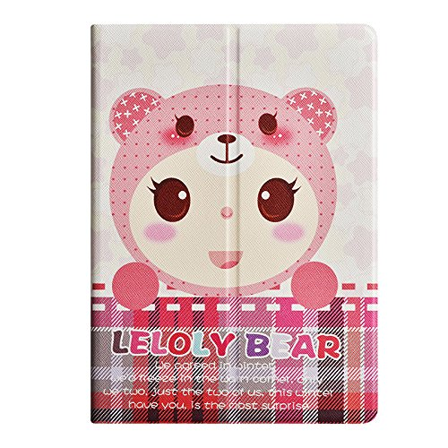 Apple Ipad Mini Case Pastoral Series Ultra-Thin Protective Case With Auto Sleep/Wake Function (Baby Bear) front-215159