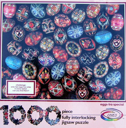 1000pc. Eggs-tra Special Jigsaw Puzzle