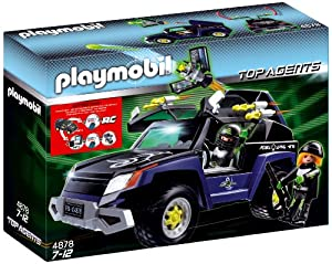 Playmobil - 4878 - Jeu de construction - 4x4 du Robo-Gang