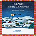 The Night Before Christmas Audiobook by Clement Clarke Moore Narrated by David deVries