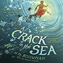 A Crack in the Sea Audiobook by H. M. Bouwman Narrated by H. M. Bouwman, Bahni Turpin