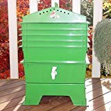 VermiHut 5-Tray Recycled Plastic Worm Composter -