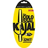10 X Maybelline Colossal Kajal, Black (Pack of 10) - Styledivahub® (Color: Black)
