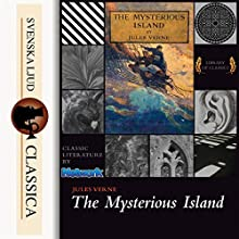 The Mysterious Island Audiobook by Jules Verne Narrated by Mark F. Smith