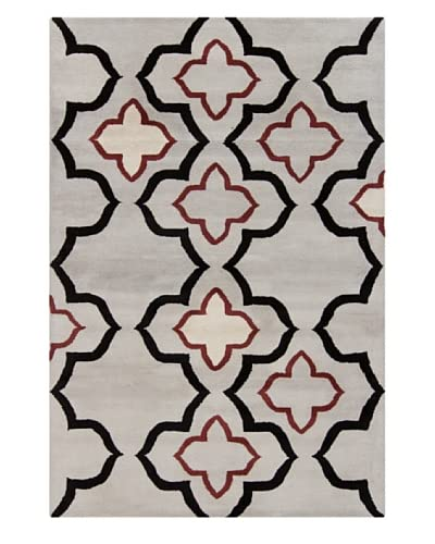 Filament Athena Hand-Tufted Rug, Grey, 5′ x 7′ 6″