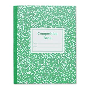 Composition Of 4 Kitchen Utensils : ... Composition Book, 9-3/4 x 7-3/4, Green Cover, 50 Pages: Home & Kitchen