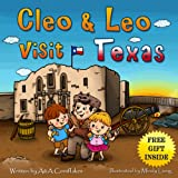 Children Book - Leo & Cleo visit Texas (free gift inside): Children values taught through fun tales and state heroes (Spirits of the State 3)