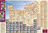 echange, troc Jean Margueritte - Carte Abbayes et Prieures en Normandie