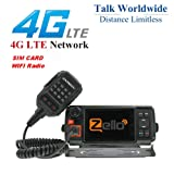 ANYSECU 4G-W2 Plus N60 3G/4G LTE FDD Mobile Radio IP Network PTT Radio Work with ZELLO/Real PTT (Radio) (Color: radio)